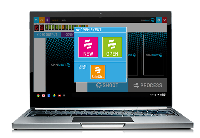 Spinshot360 Software System